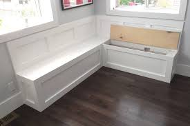 Corner Bench With Storage Magnificent Kitchen Corner Bench Seating With Storage On Kitchen