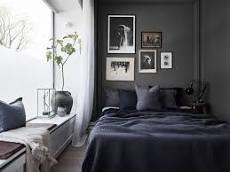 Black And Blue Bedroom Designs by Small Apartment With A Dark Bedroom Gravityhomeblog Com