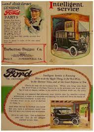 ford usa car brochures