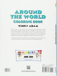 around the world coloring book dover history coloring book