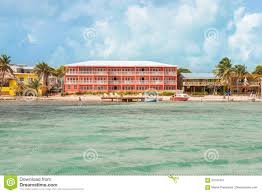 hotel building in san pedro belize editorial photo image 93197491