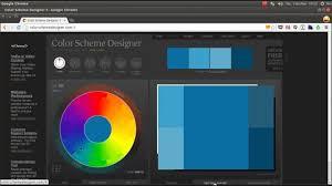 Colorschemer Color Scheme Designer Youtube