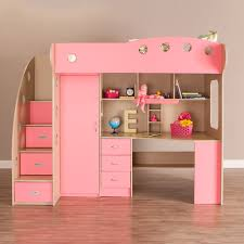 Bunk Beds Pink Loft Bed Maple Pink Bunk Beds Canada Smart Furniture