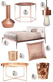 Home Decor Things 84 Best Rose Gold Home Decor Images On Pinterest Home Lighting
