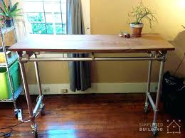 do it yourself standing desk build standing desk wysiwyghome com
