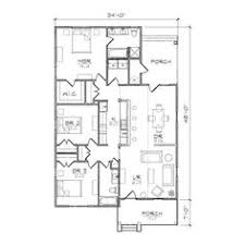 House Plans Bungalow Ansley Ii Accessible Bungalow Floor Plan 24x49 Craftsman House