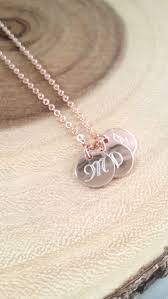 monogram disc necklace monogram disc necklace gold initial necklace personalized