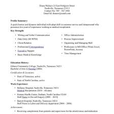 Resume Template Software by Office Junior Cv Office Administrator Resume Templates Software