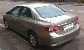 cost of toyota corolla in india toyota corolla altis vs skoda car comparison