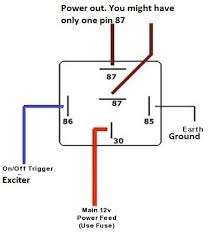 5 pin automotive relay diagram 5 pin wiring schematic beuler