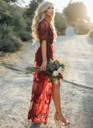 deep v neck short sleeve high waist lace prom dress oasap com