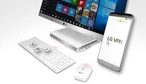 ordinateur de bureau lg lg améliore le fonctionnement entre ses smartphones et un ordinateur
