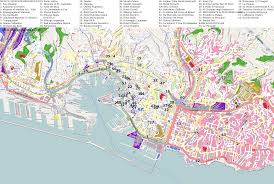 Genoa Italy Map by City Maps Genoa