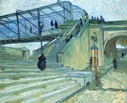 the trinquetaille bridge 1888 vincent van gogh wikiart org the trinquetaille bridge 1888 vincent van gogh
