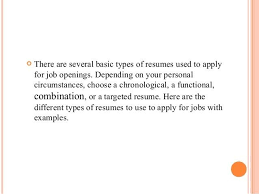 Different Types Of Resume Targeted Cover Letter 16 Types Of Job Letter Samples Letter