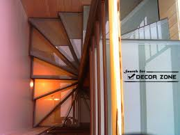 staircase design for small spaces wooden spiral stairs design with glass staircase panels scale for