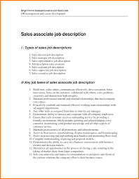 Sales Associate Job Duties For Resume by Retail Resume Sales Associate Free Resume Example And Writing