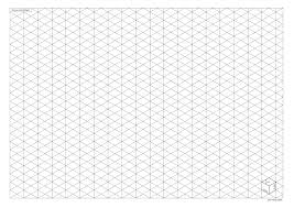 printable isometric paper a4 isometric drawing paper clipartxtras