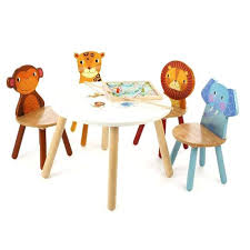 childrens table and 2 chairs childrens table and chairs jungle safari animals table and 2 chairs
