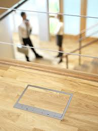 flooring electric floor outletover plates brassovers wood