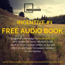 Free Audio Books For The Blind Blind Courage The Movie Indiegogo