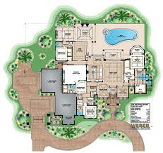 luxury mediterranean golf course house plan with photos mezzano
