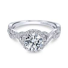 engagement rings round images Circle engagement ring with halo inner voice designs jpg