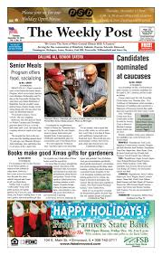 the weekly post 12 15 16 by the weekly post issuu