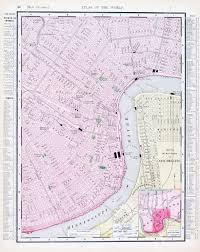 New Orleans La Map by Maps Update 21051488 Tourist Attractions Map In La Los Angeles