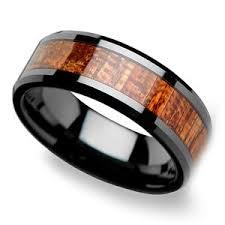 wooden wedding rings koa wood rings a collection of men s wood wedding rings