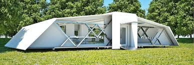 these incredible self deploying buildings pop up in 8 minutes flat