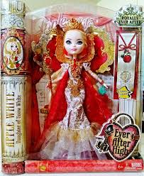 after high apple white doll boneca rea apple white high