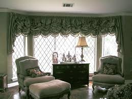 Balloon Curtains For Living Room Furniture Beautiful White Fabric Balloon Curtain On Clear Glass