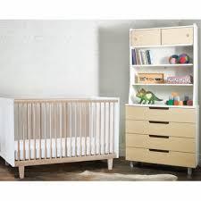 Oeuf Crib Mattress Oeuf 3 Nursery Set Rhea Crib 4 Drawer Dresser And Hutch In