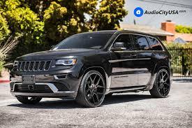 24 Giovanna Wheels Haleb Gloss Black Rims 2016 Jeep Grand