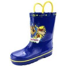 paw patrol kids rain boots red blue marshall u0026 chase 7 8