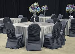 grey chair covers grey spandex chair covers and matte satin silver linen are a