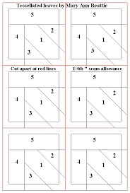 trainee pattern grader 12 best tessellation leaf pattern images on pinterest quilt block