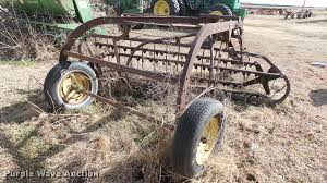 john deere 858 hay rake item bu9458 sold march 8 ag equ