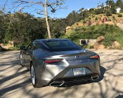 lexus lc500h gas mileage the lexus lc 500h is a hybrid like no other 95 octane