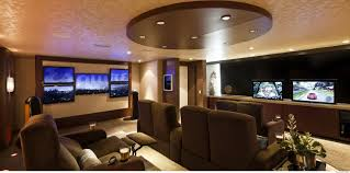 ultimate bachelor pad home theatre interior design mag
