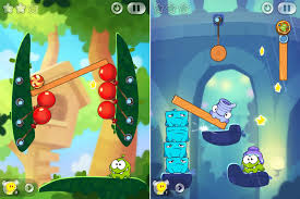 android puzzle a great android puzzle cut the rope 2 phone applications news
