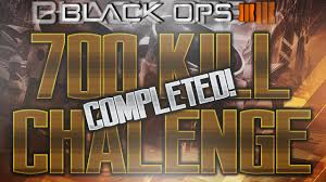 Challenge Kills Someone 700 Kill Challenge Completed In Black Ops 3 Hardest Challenge In