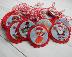 tree advent calendar with 24 ornament personalized