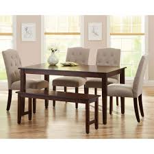 better homes and gardens 7 piece dining set with upholstered