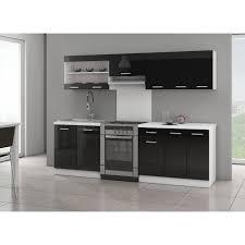 cuisine noir laqué pas cher cuisine complete noir laque achat vente cuisine complete noir