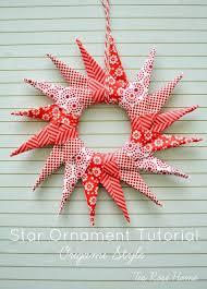 origami ornament tutorial u create