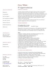 Support Technician Resume Download It Helpdesk Support Technician In Chicago Il Resume