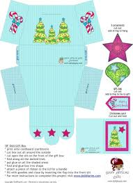 31 more days of doll play printable gift box and ornaments for