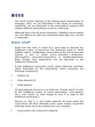 Declarative And Interrogative Sentences Worksheets Mood And Residue Analysis Grammatical Conjugation Languages